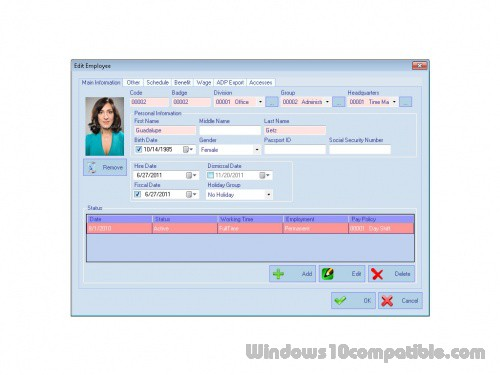 AMG Employee Attendance Software 15 18 0 Free download